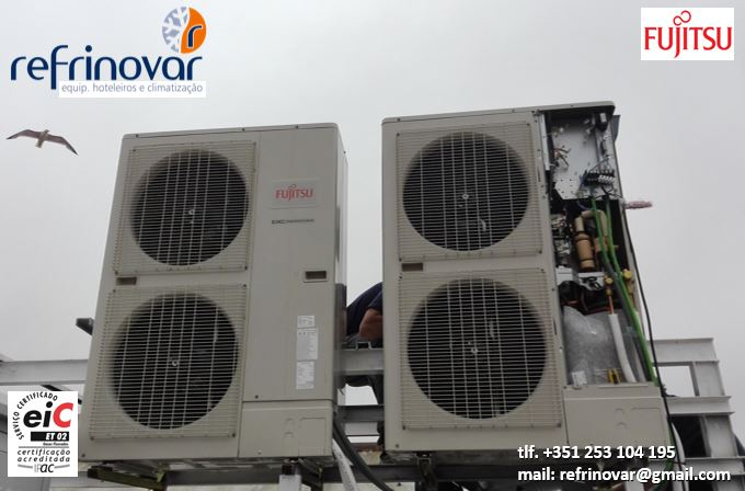 Ar Condicionado Grandes Salas - Multi-Split Inverter Twin-Triple - Fujitsu