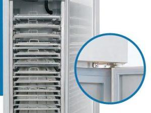 Armário frigorífico Conservação de massas Verdes Temperaturas Positivas, 1 ou 2 Portas, preparado para tabuleiros enfornadores 85x45 cm