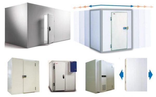 Câmaras frigoríficas, pequenas ou grandes, com ou sem chão, em painel modular ou industrial, com diversas espessuras, 60,80,100 ou 120
