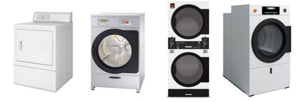 Máquina de Secar a gás ou electricdade, secador eléctrico com ou sem mouedeiro, Secador Duplo, Máquina de Secar de Grande Capacidade
