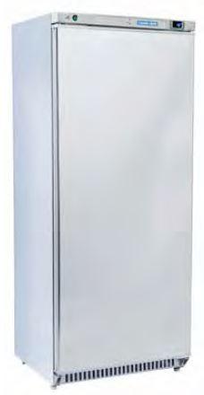 Armario frigorífico 600 Lts de Conservação temperaturas positivas ou negativas GN 2-1, Interior Abs, Exterior em SK ou inox scotch-brite