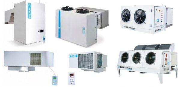 Sistemas Frigoríficos Compactados Tipo Plug-in de Conservação e de Congelação. de Mochila ou Parede, de Tecto , de Solo de alto rendimento