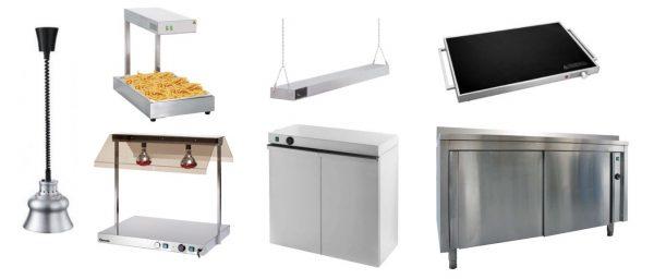 Sistemas de Aquecimento, Lampadas de Aquecimento, Placas de Aquecimento vitrocerâmica, Estufa de Aquecimento de Pratos ou Travessas