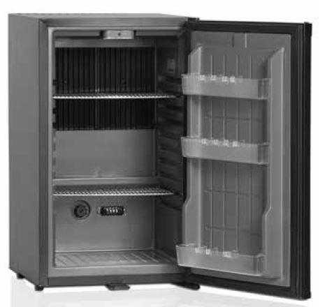 Armário frigorífico Baixo , tipico mini-bar, exterior e interior sk ou abs, grupos frigoríficos silenciosos