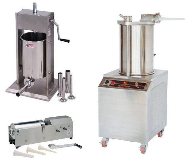 Máquina de enchidos Manual aplicada na horizontal ou modelo vertical, a máquina de enchidos automática