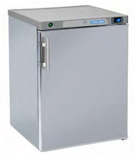 Armario frigorífico Baixo 170 Lts de Conservação temperaturas positivas ou negativas, Interior Abs, Exterior em inox scotch-brite