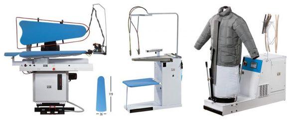 Prensa universal peneumática, máquina tira nódoas a frio ou Quente, máquina de Vapor com caldeira