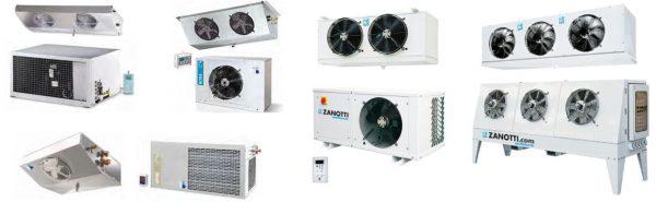 Sistemas frigoríficos com unidades Condensadoras hermétricas, semi-hermétricas, com compressor Scroll, conectadas a evaporadores