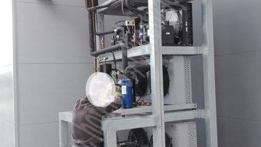 Grupos compressores á distância para circuito de câmaras frigoríficas