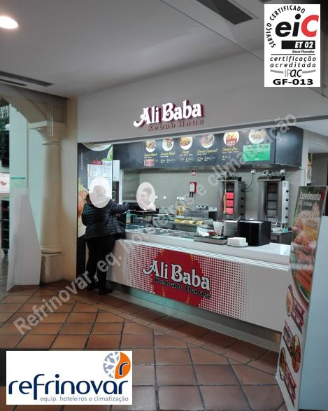 Imagem final da loja de kebabs do Ali Baba