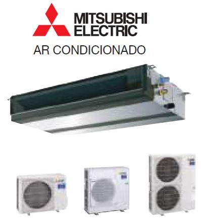 Ar Condicionado da gama comercial modelo Condutas inverter