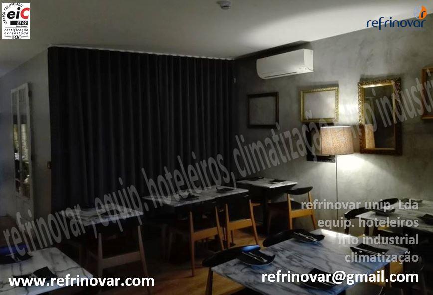 2ª Sala de refeições com decoração vintage climatizada