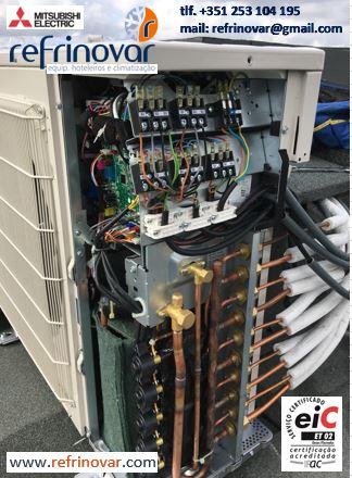 Ar Condicionado Inverter - Unidade Exterior Multi-Split para 5 Circuitos - Mitsubishi Electric