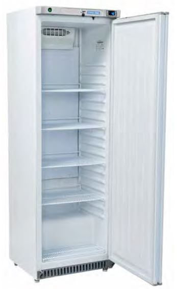 Armario frigorífico 400 Lts de Conservação temperaturas positivas ou negativas, Interior Abs, Exterior em SK ou inox scotch-brite
