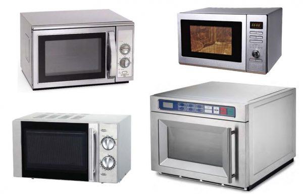 Microondas analógicos tradicionais a electrónicos, em sk ou em aço inox, ao microondas por sistema de duplo magnetrão que não têm prato rotativo