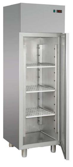 Armário frigorífico de 400 Lts de temperaturas positivas ou temperaturas negativas, opções para divisão de 1 Porta em 2 Meias Portas