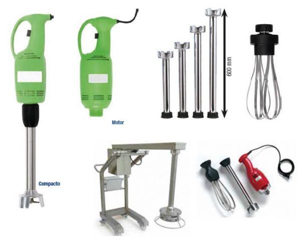 Varinha Mágica Industrial, ou triturador batedor , opções de varios tamanhos de braços trituradores, Triturador industrial para Marmitas