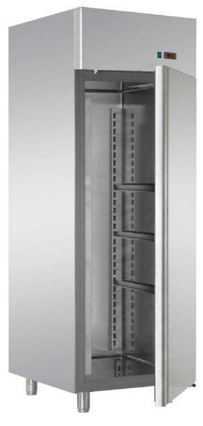 Armário frigorífico de Conservação de Massas Verdes Temperaturas Positivas ou Negativa de 1 ou 2 Portas, preparado para tabuleiros 40x60 cm