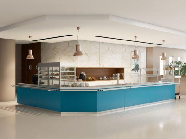 Self Serviçe Servit Jimo - design simples e Moderno com várias opções e possibilidades de combinar com balcões ou vitrines de Pastelaria