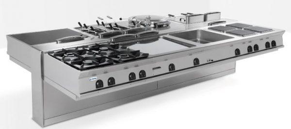 Linha Modular 900 Suspensa - Segmento ideal para espaços de alto reendimento com espaço amplo inferior