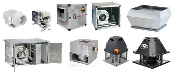 Motores de ventilação, motor inline, ventilador centrifugo dd Simples ou com Caixa, Caixa transmissão de Correia, Ventilador de Cobertura, Unidade de tratamento de Ar, etc.