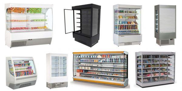 Expositores Verticais Refrigerados - Murais de Conservação de Frutas, Lacticinios ou charcuteria, opção aberta, com portas ou Cortina,