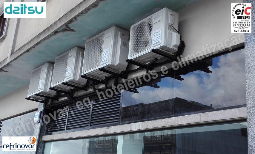 Sistema multi-split 2x1 inverter para cassetes interiores de ar condicionado Daitsu