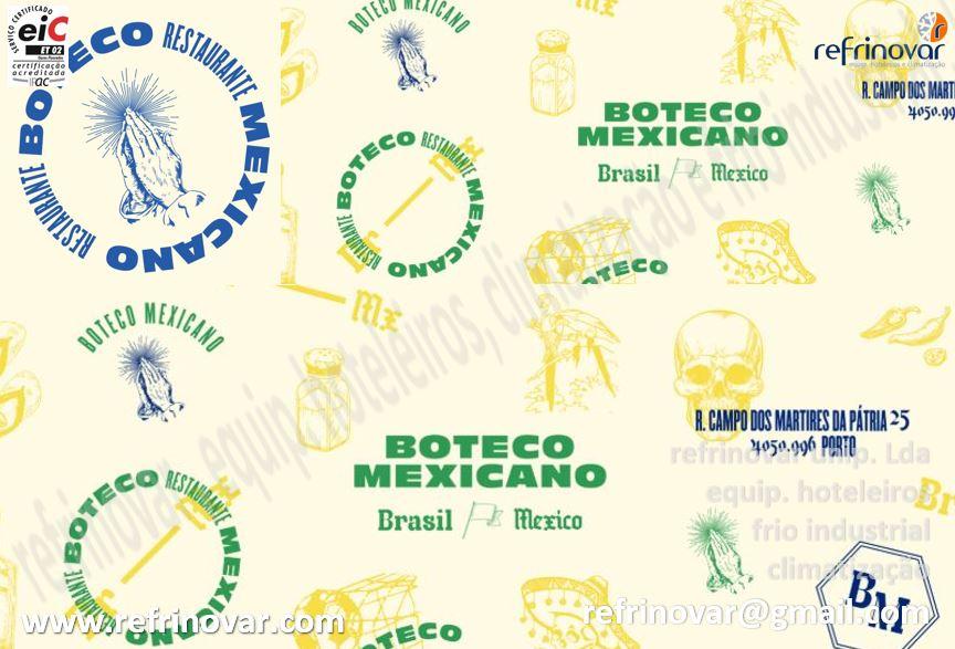 Logótipo do restaurante do Boteco Mexicano - Imagem da autoria do Boteco Mexicano.